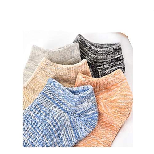 Ouyeye Modal Socken Herren Socken Retro-Nationalen Wind Jungen Niedrig, Um Flacher Mund Boot Socken Sport Kurze Rohr Baumwolle Socken Bambus Retro-Socken 10 Paare Zu Helfen