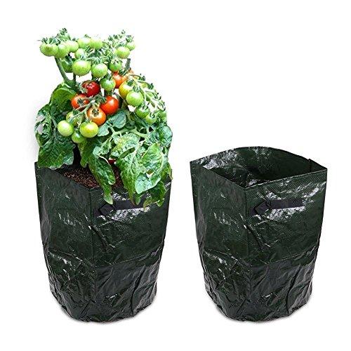 JJONLINESTORE–6x patate Sacco Vaso per coltivare patate patate Spud Vasca da serra giardino Planter Borse vegetali, 35,6x 45,7cm cm