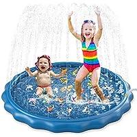 Jasonwell Kids Toddlers Splash Pad Play Mat 60