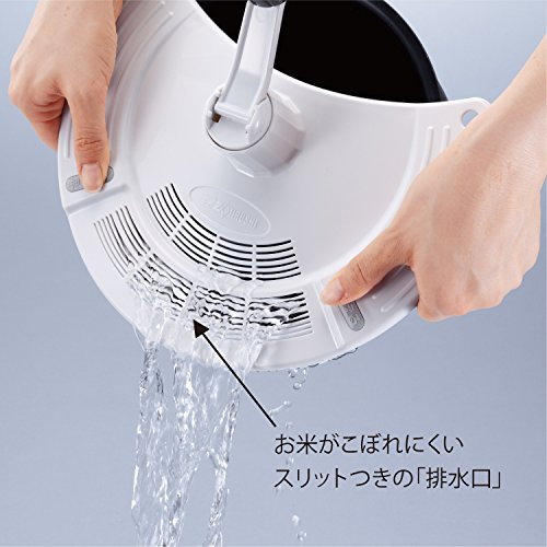 象印洗米器5.5合~1升内釜対応DK-SA26-WA