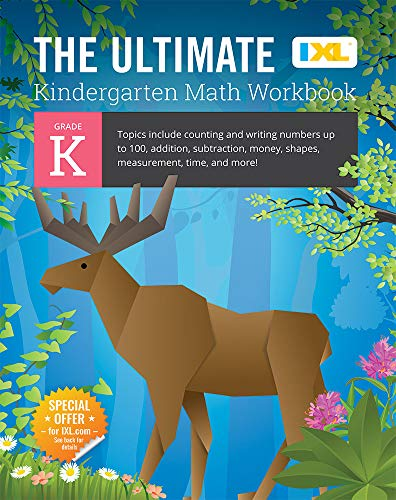 IXL | The Ultimate Kindergarten Math Workbook | Counting, Shapes, & More | Ages 5-6, 224 pgs