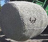 Tech Equestrian 6x6 Jumbo Round Bale Slow Feed Hay Net...