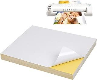 ATPWONZ Sticker Paper 50 Sheets Online Labels A4 8.5