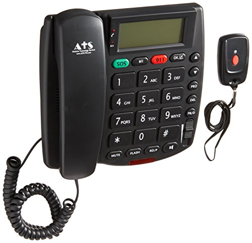 ATS Senior Life Guardian - No Monthly Fee Medical Alert System - Personal Emergency Response System - Waterproof Panic Button