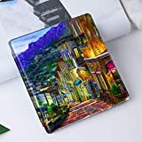 BYLLZZ Funda para Kindle For Funda Kindle Oasis (10.A Generación) para Kindle Oasis 2/3 (9Th/10Th 2017/2019 Release) con Auto Sleep/Wake Magnatic Cover,Midnight City