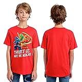 Lego Ninjago Boys' Big T-Shirt, Red, 8