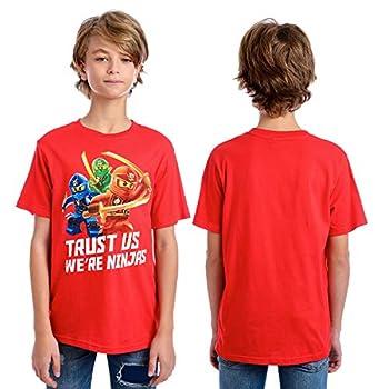 Lego Ninjago Boys  Big T-Shirt Red 14/16