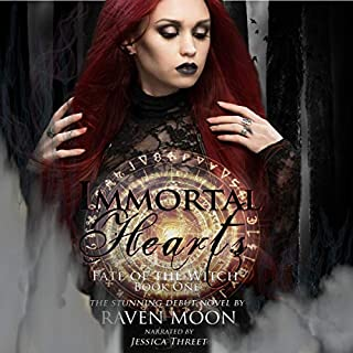 Immortal Hearts  audiobook cover art