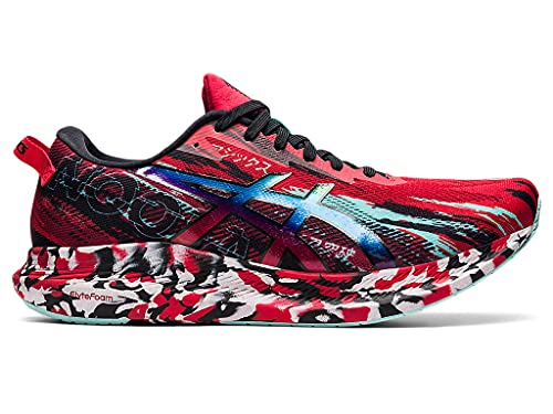 ASICS Men's Noosa TRI 13 Running Shoes, 8.5, Electric RED/Black