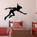 wZUN Calcomanías de Pared de Dibujos Animados de Vinilo Pegatinas de Pared Dormitorio habitación de los niños guardería calcomanías de Pared Personalizadas 42X54cm