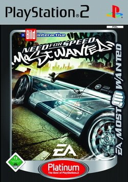 Need for Speed - Most Wanted - PS2 Platinum