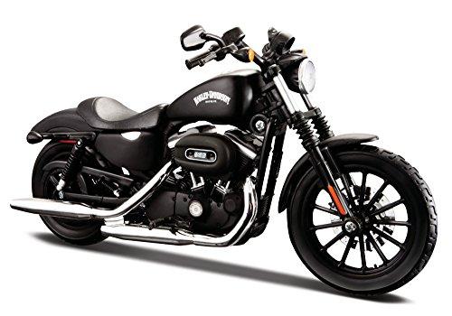 Maisto 2014 Harley Davidson Sportster Iron 883 34360-33-1, Schwarz, 1:18 Die Cast