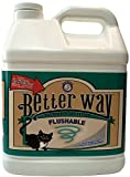 Ultra Pet Better Way Flushable Cat Litter, 12-Pound Containers (Pack of 3)