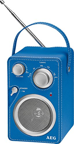 AEG MR 4144 tragbares UKW-Radio, Netz-oder Batteriebetrieb, AUX-IN, Kopfhöreranschluss