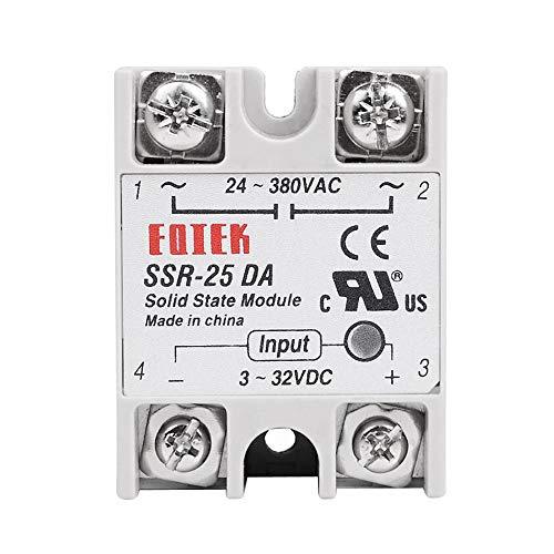 Haobase Control Temperatur Controller AC 24 V-380 V Output Solid State Relais 25 A ssr-25da