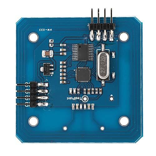 Socobeta Lesemodul RC522 Serielles Lese-/Schreibmodul 13.56 MHz IC-Karte HF-Hochfrequenzmodul