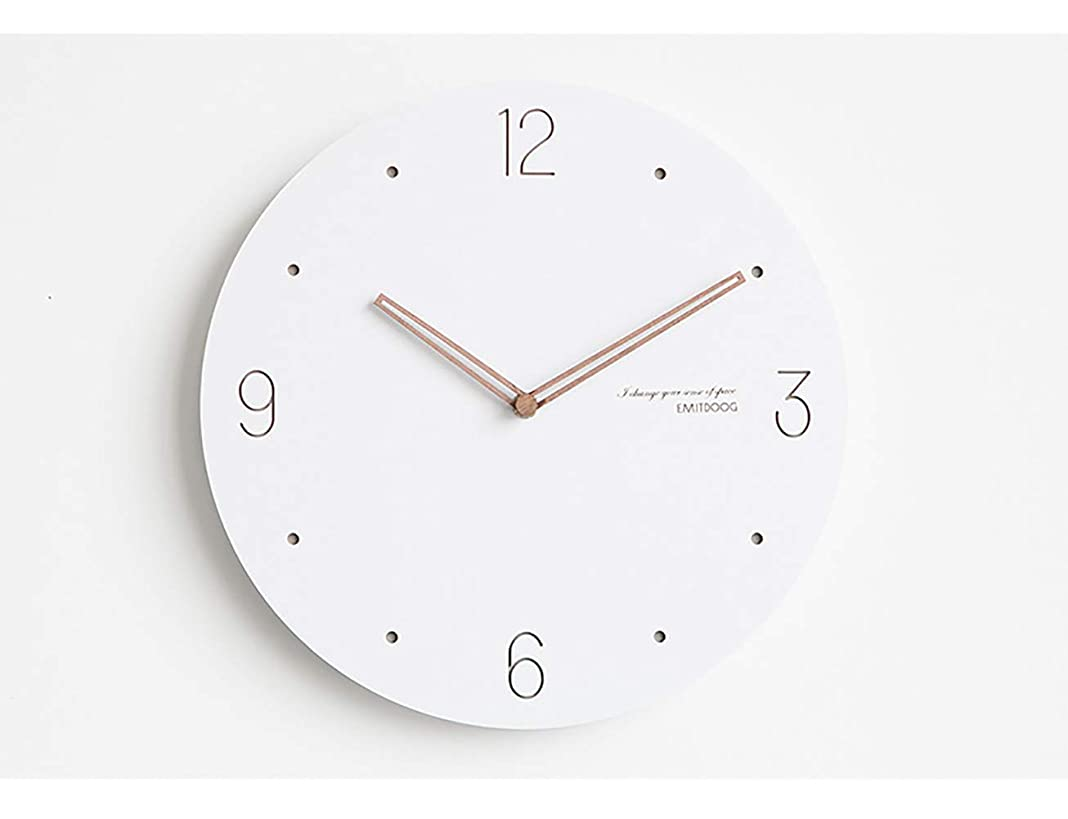 不平を言う首尾一貫した勇敢なPFLife 掛け時計 スイープ(連続秒針)静音 シンプル デザイン 北欧インテリアおしゃれ 部屋装飾 インテリア (S, Ⅳ)