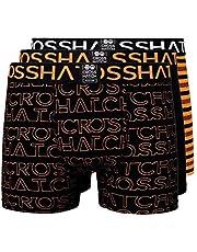 Crosshatch boxershorts för män flerpackade 3PK underkläder presentset 3-pack Tresco
