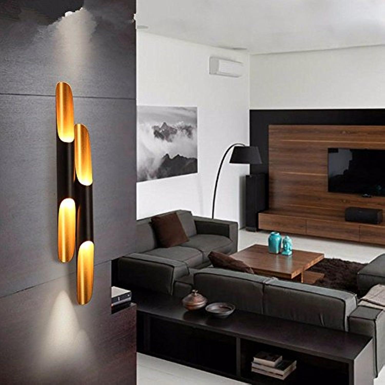 StiefelU LED Wandleuchte nach oben und unten Wandleuchten Die Wnde sind mit Aluminium Zylinder Wandleuchten, Dual-Tube 100 cm eingerichtet