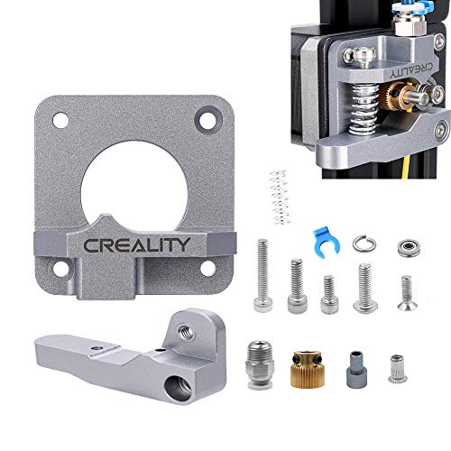Tresbro Creality MK8 Metal Extruder,Upgrade 3D Printer Parts Aluminum Alloy Block Bowden Extruder 1.75mm Filament for Creality 3D Ender 3,CR-7,CR-8, CR-10, CR-10S, CR-10 S4, and CR-10 S5
