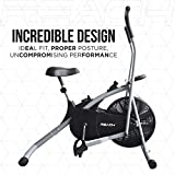 Reach Air Bike Ab-100 Fitness Gym Cycle With Back Support Seat & Twister (Multi-color)