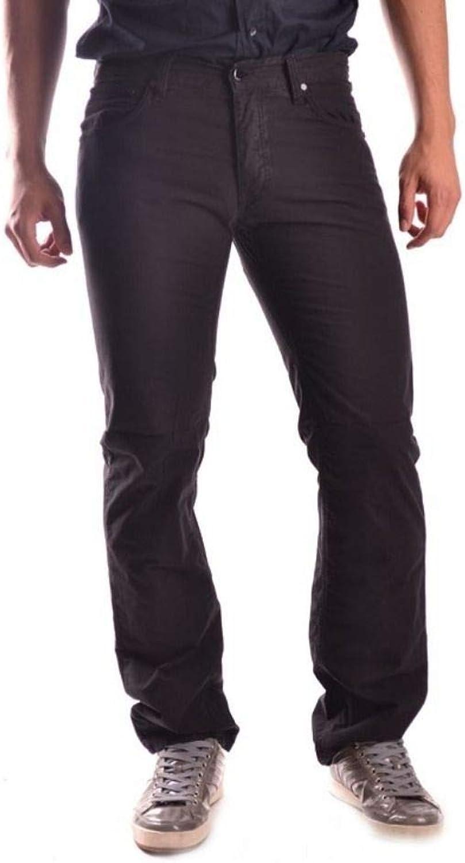 RAF SIMONS Men's MCBI10621 Black Cotton Pants