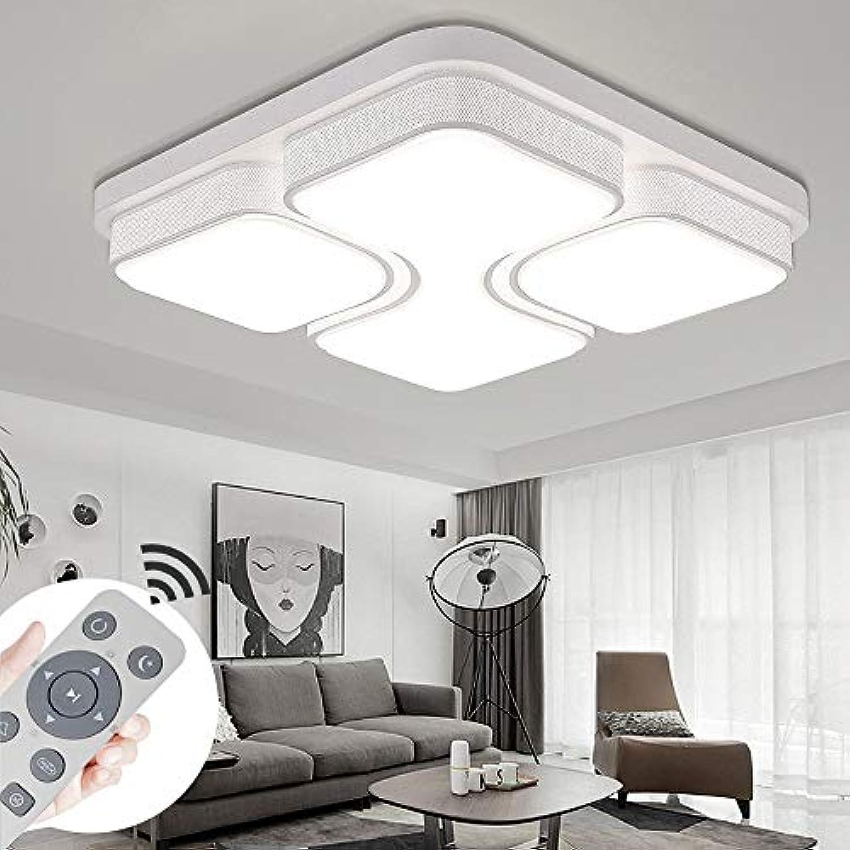 BMQXX 36W LED Deckenleuchte Dimmbar Deckenlampe Modern Design Schlafzimmer Küche Flur Wohnzimmer Lampe Wandleuchte Energie Sparen Licht [Energieklasse A++]