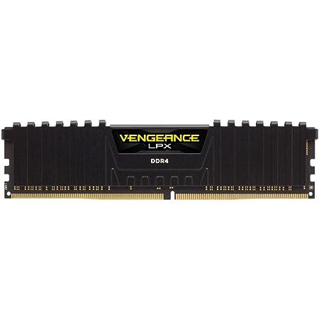 Corsair VENGEANCE LPX 16GB, 2x8GB, DDR4 3200MHz C16 Módulos de Memoria de Alto Rendimiento, Negro