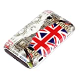 deinPhone Sony Xperia Tipo ST21i HARDcarcasa Hülle Carcasa Londres Lugares de interés de la Bandera GB