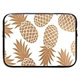 13 Inch Laptop Sleeve Briefcase,Pineapples Neoprene Waterproof Handbag for Surface Laptop MacBook Pro/MacBook Air/Acer/Asus/Dell/Lenovo/iPad/Surface Book
