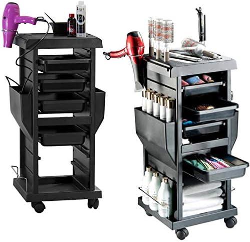 4 tiroirs Panier Salon De Coiffure Esthéticienne Plus Chariot Coiffeur MOBILIER Beauté Esthétique Coiffure Massage Ta...