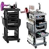 4 tiroirs Panier Salon De Coiffure Esthéticienne Plus Chariot Coiffeur MOBILIER Beauté Esthétique Coiffure Massage Table DE Service - 4