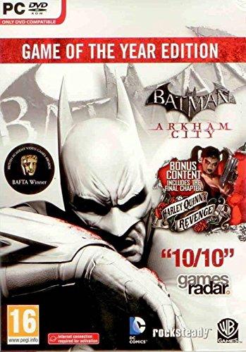 Batman Arkham City GOTY PC [Game of the Year GOTY Edition]