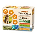 IAMS Naturally Nourriture Humide pour Chat Adulte