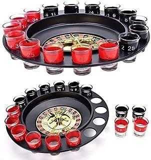 BHAVYA CART Shot Spinning Roulette Game Set (16-Piece)