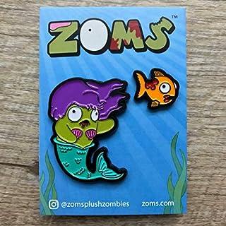ZOMS Meranda & Gulp (Purple Hair) Pin Set