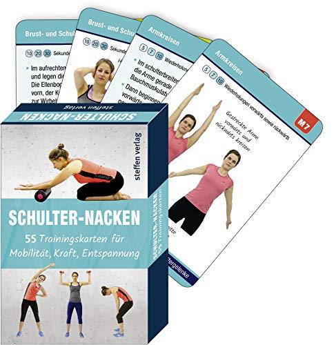 Schulter-Nacken: 55 Trainingskarten für Mobilität, Kraft, Entspannung (Trainingsreihe von Ronald Thomschke)