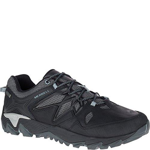 Merrell Men's All Out Blaze 2 Waterproof Hiking Shoe, Black, 11.5 M US