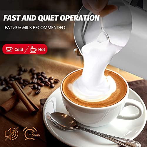 zociko Batidoras espumadoras de leche automáticas
