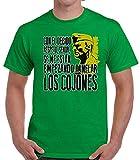 Desconocido 35mm - Camiseta Hombre El Sargento De Hierro - Se Me Estan Empezando a Inflar - Verde - Talla l