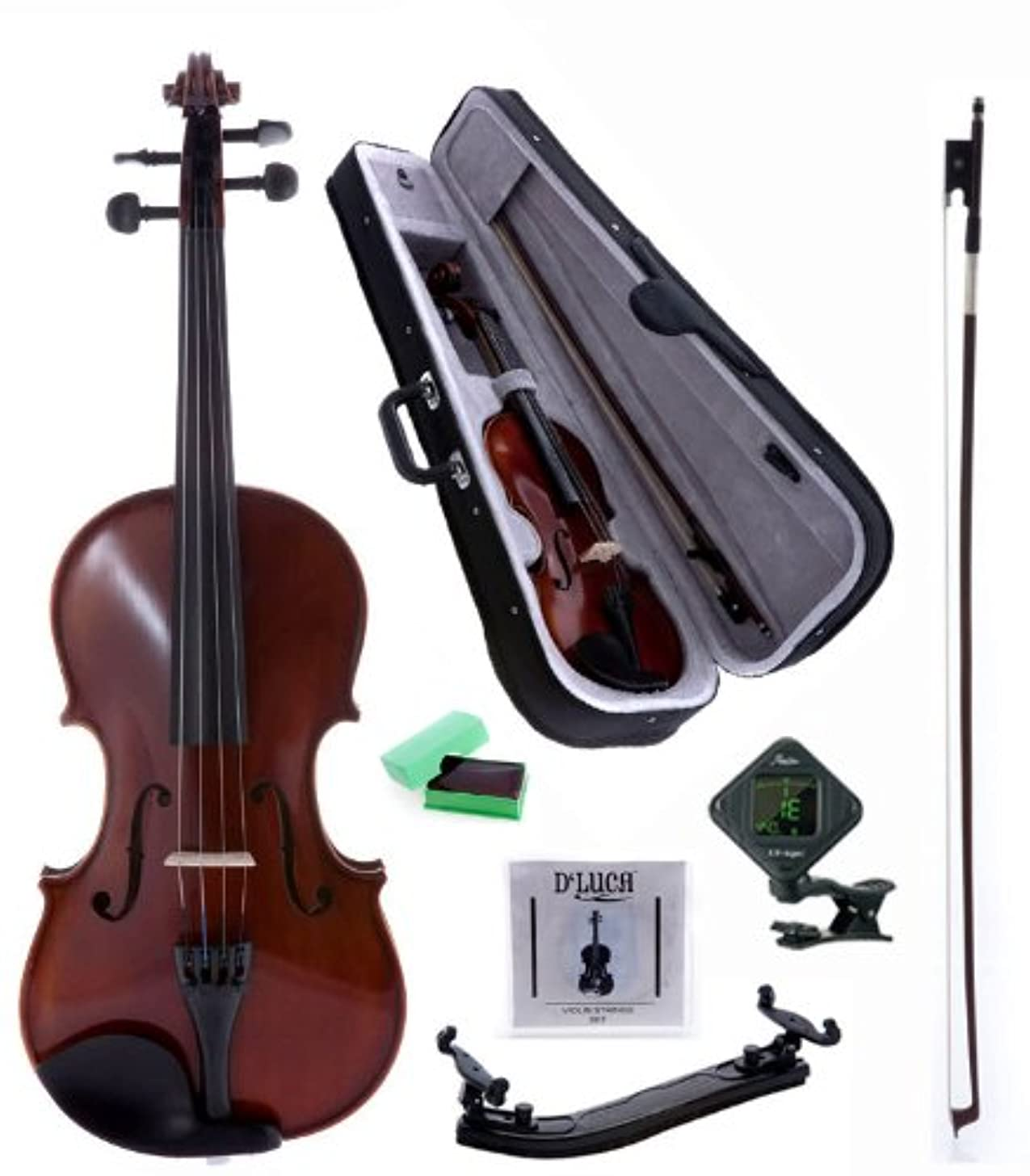 D'Luca POD01 Orchestral Series Violin Outfit - 4/4