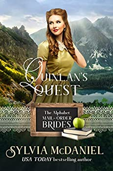 Quinlan's Quest: A Lipstick and Lead Story: (The Alphabet Mail-Order Brides Book 17) by [Sylvia McDaniel]