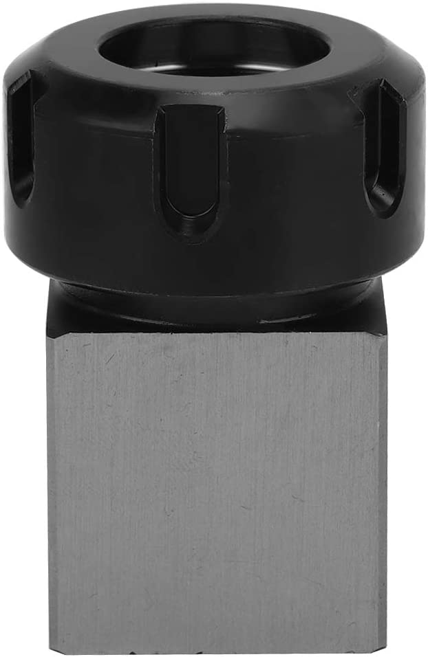 Collet Chuck Silver Collet Chuck Block Square Chuck for Machines