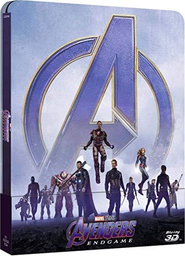 avengers endgame steelbook 3d et 2d 2019
