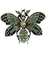 Butterfly Brooch for Women - 3 Colors Insect Themes with Gold, Colorful Tone Brooch Pins - Fashion Mother of Pearl Brooch Pins - Great for Wife,Sisters,Friends,Daily Wear