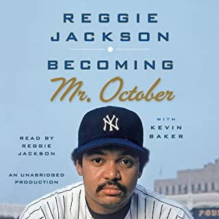 Becoming Mr. October audiobook cover art