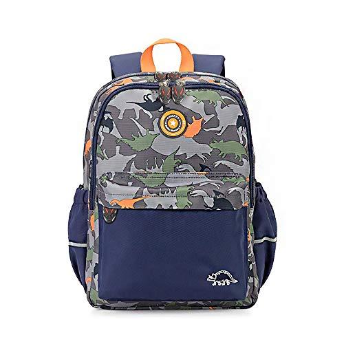 RuRu Monkey Dinosaur Kids Toddler Backpack, Perfect for Preshcool, Elementary School Bag for Boys Girls