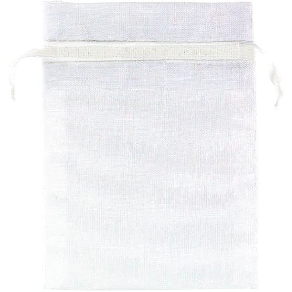Amscan White Organza Bags, 24 Ct. | Party Favor