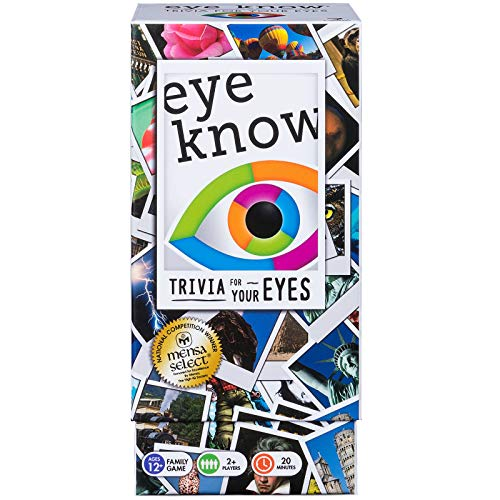 Spin Master Inc Eye Know Trivia Card Game