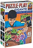 Puzzle Play Gigante - Mapa Do Brasil, GROW